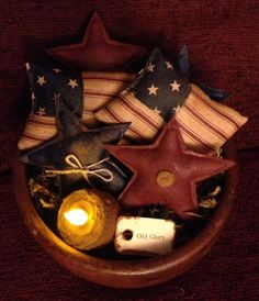 Americana Bowl Fillers. $13.95, via Etsy.