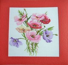 Item image Cross Stitch Cards, Embroidery Supplies, Poppies, Carrie, Image, Ebay, Embroidery, Cross Stitch Boards, Poppy