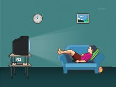 How to help children handle their addiction to Television?