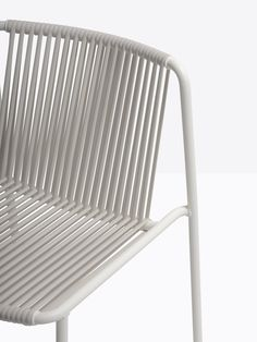 pedrali's tribeca chair by mandelli pagliarulo recalls childhood memories of summer