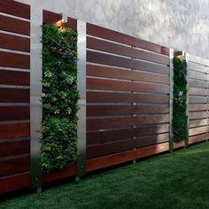 Modern Garden Fence Design For Summer Ideas/modern Garden Fence Design For Summer Ideas 16 - Beautifull HD Wallpapers Modern Fence Design, Modern Landscape Design, Modern Landscaping, Contemporary Landscape, Landscaping Ideas, Backyard Fences, Garden Fencing, Backyard Landscaping, Bamboo Fencing