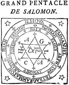 Le grand pentacle de Salomon vibre en capital chance positif à (plus) +0,5/3. C'est bien. c'est une protection, à porter sur un papier, sur soit. source:  http://www.google.fr   mon site misterchance