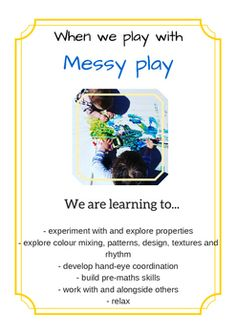 We are learning to... by Poppets Play | Teachers Pay Teachers