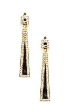 Roaring 20's Triangle Earrings...I love the 20's!!!