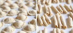 Orecchiette e Minchiareddi  è una pasta tipica #salentina fatta in casa. Tipicamente vengono gustati con sugo e formaggio o ricotta grattuggiato