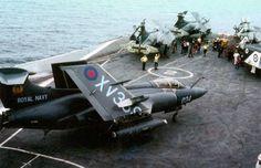 HMS Ark Royal FAA Buccaneers & Phantoms