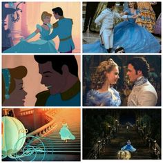 Cinderella 2015 and 1950
