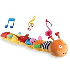 Baby Musical Caterpillar Crinkle Rattle Soft With Ring Bell Toddler Plush Toy Caterpillar Toys, Stocking Stuffers For Baby, Baby Musical Toys, Baby Christmas Gifts, Holiday Gifts, Christmas Holiday, Baby Records, The Embrace, Baby Rattle