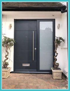 Modern front door hardware entrance Ideas for 2019 Best Front Doors, Front Door Locks, Front Door Porch, Double Front Doors, Front Door Entrance, Glass Front Door, Front Entrances, Entry Doors, Entrance Gates