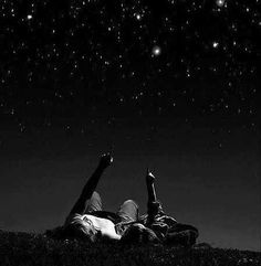 Lay down under a sky full of stars with the one you love #stars#skyl Under a star filled sky, on a blanket in the yard, or in a remote field, or in the back of your truck- I can love you all night long and wish for the moon to never give up to the light of day...