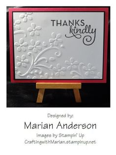 Thanks Kindly - One Big Meaning Stampin' Up set #139420
