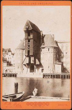 Danzig, Old Pictures, Old Photos, Edge City, Prussia, Old City, Beautiful Buildings, Historical Photos, Wwii