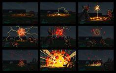 Battleborn FX Concepts by Michel Gagné.