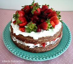 Ideias Saborosas: Naked Cake