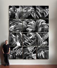 The Musician's Hands by Jeff Bartels - ego-alterego.com   AP Art concentration idea?