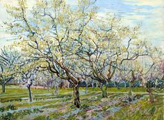 Cuadro de Van Gogh el Huerto Blanco