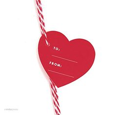 Andaz Press Heart Gift Tags, Modern Style, To / From, Red, 30-Pack >>> Wow! I love this. Check it out now! : Christmas Gifts