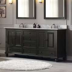 "Avanity Thompson 72"" Bathroom Vanity Base & Reviews 