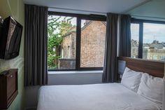 Ma chambre Tune Hotels à Liverpool Street à Londres: une jolie chambre pour les petits budgets pour mieux pouvoir profiter de Londres.