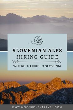 Do you want to hike in Slovenia? Use this Slovenian Alps hiking guide to find out the best places to hike in Slovenia. #slovenianalps #slovenia #hikingslovenia Hiking Guide, Hiking Trails, Slovenia Travel, Julian Alps, French Alps, Mountain Hiking, Day Hike, Eastern Europe, Amazing Destinations