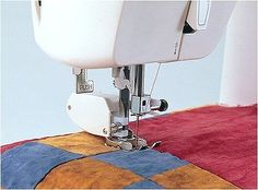 Even Feed/Walking Foot Sewing Machine Presser Foot w/ BONUS! Quilt Guide Made to