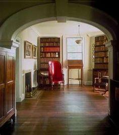 Monticello - Jefferson's library