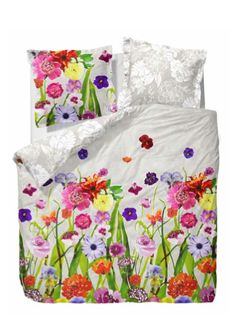 Essenza floral bedding