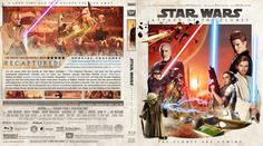 Star Wars Episode II: Attack of the Clones Blu-ray Custom Cover