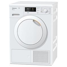 Buy Miele TKB140WP Heat Pump Freestanding Tumble Dryer, 7kg Load, A++ Energy Rating, White Online at johnlewis.com