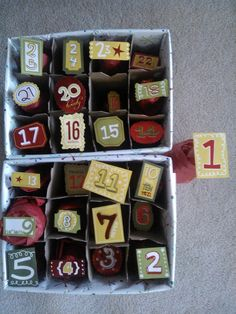 My beer advent calendar Great advent calendar option for adults Beer Advent Calendar, Advent Calenders, Christmas Presents For Beer Lovers, Diy Gifts For Boyfriend, Xmas Decorations, Christmas Projects, Christmas Traditions, Beautiful Christmas, Diy And Crafts