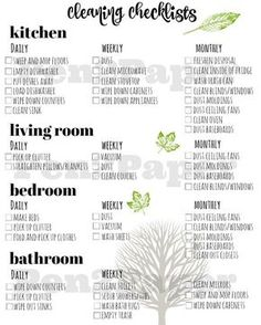 Cleaning Checklist // Cleaning Schedule // Home Management // Cleaning Blinds, Oven Cleaning, Toilet Cleaning, Cleaning Ceilings, Norwex Cleaning, Deep Cleaning Tips, Cleaning Solutions, Cleaning Hacks, Diy Hacks