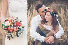 Znalezione obrazy dla zapytania jesienna sesja ślubna