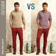 Te presentamos 2 opciones para un look fresco. ¿Cuál prefieres? #mbo #polos #camisas #vs #elige #menfashion #menwear
