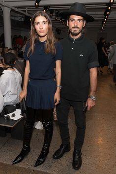 Patricia Manfield y Giotto Calendoli
