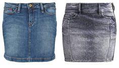 Hilfiger Denim Falda Vaquera Brilliance Blue Stretch vestidos y faldas vaquera Stretch Hilfiger falda Denim Brilliance Blue Noe.Moda