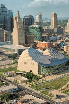 The Kauffman Center is one of the most beautiful architectual scructures in the world.