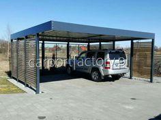 Nowoczesna wiata garażowa, carport, stalowa Międzyrzecz - image 1