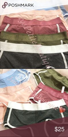 Pink Victoria Secret Boyshorts Begonia M Popular colors pink victoria secrets boy shorts that are making the internet go crazy!❤️ I have just gotten 3 begonia in size medium.I don't do returns due to hygiene purposes! Get yours now  This listing is for each. Every purchase comes gift wrapped PINK Victoria's Secret Intimates & Sleepwear Panties