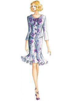 sewing pattern Skirts 2134
