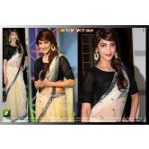 fancy-indian-bollywood-cream-designer-saree