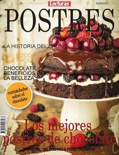 "Cover of ""Revistan"" My Recipes, Sweet Recipes, Pastel Cakes, Decadent Cakes, Secret Recipe, Sweet Cakes, Vintage Recipes, Desert Recipes, Macaroons"