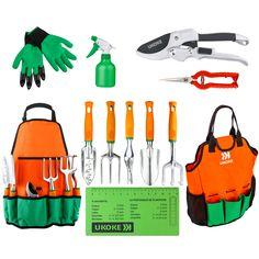 Yardwe Garden Grip Trowel Mini Gardening Hand Shovel with Rubber Handle