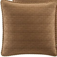 CROSCILL Home Fashions Bali Harvest European Sham 26Inch by 26Inch ** Learn more by visiting the image link.