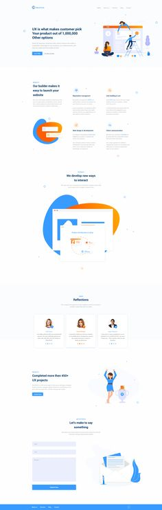 Web ux Corporate Website, Landing Page Design, Website Designs, Service Design, Design Inspiration, Layout, Templates, Illustration, Layout Inspiration