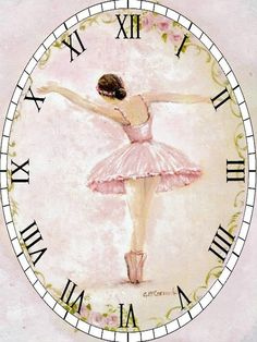 Сообщество любителей декупажа DCPG.ru Clock Printable, Shabby Chic Clock, Vintage Ballerina, Fancy Watches, Face Images, Bullet Journal Art, Diy Clock, Decoupage Paper, Vintage Labels