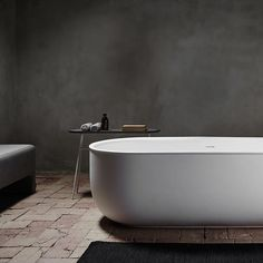 Another image of our new series of bathtubs and bassins for Spanish brand Inbani. #normarchitects #inbani #prime #bathroom