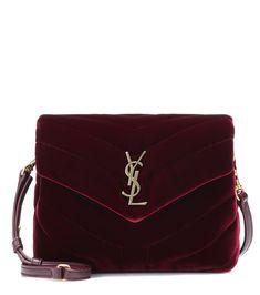 f0239f9ea36 Toy Loulou Velvet Shoulder Bag   Saint Laurent - mytheresa Saint Laurent Bag,  Day Bag
