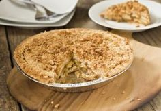 Steviacane Dutch Crumb Apple Pie