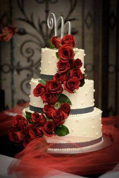 Red Wedding, Wedding Things, Wedding Day, Cupcake Cakes, Cupcakes, Weeding, Cake Art, Beautiful Cakes, Cake Recipes
