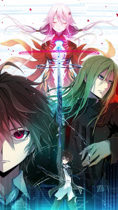 Day 6: anime I want to se, but haven't yet: Guilty Crown! A lot of my friends has told me how great this anime is